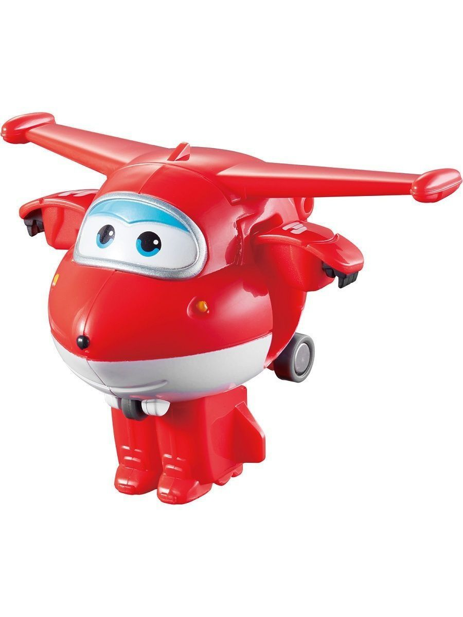 Самолеты и вертолеты Super Wings Мини-трансформер Джетт