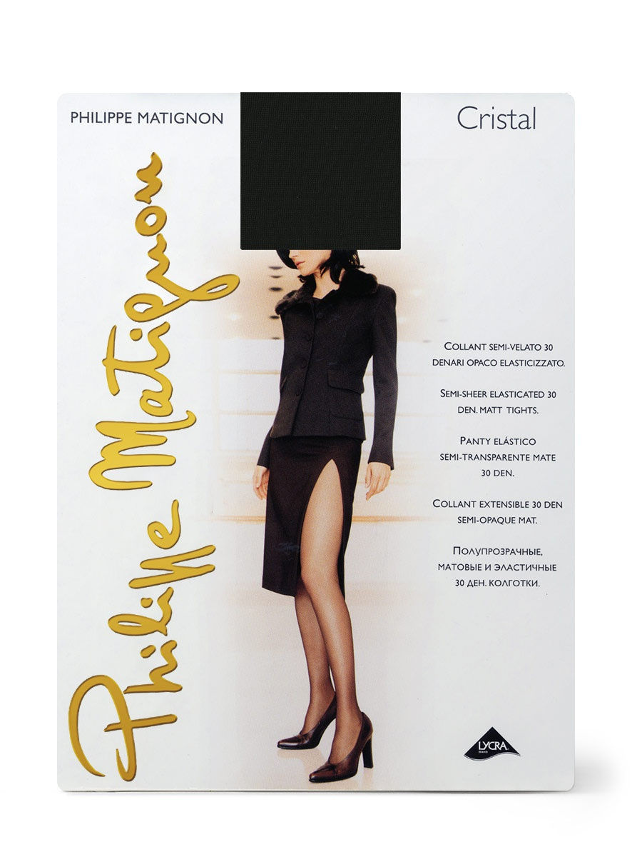 Колготки Phillipe Matignon CRISTAL30/Nero