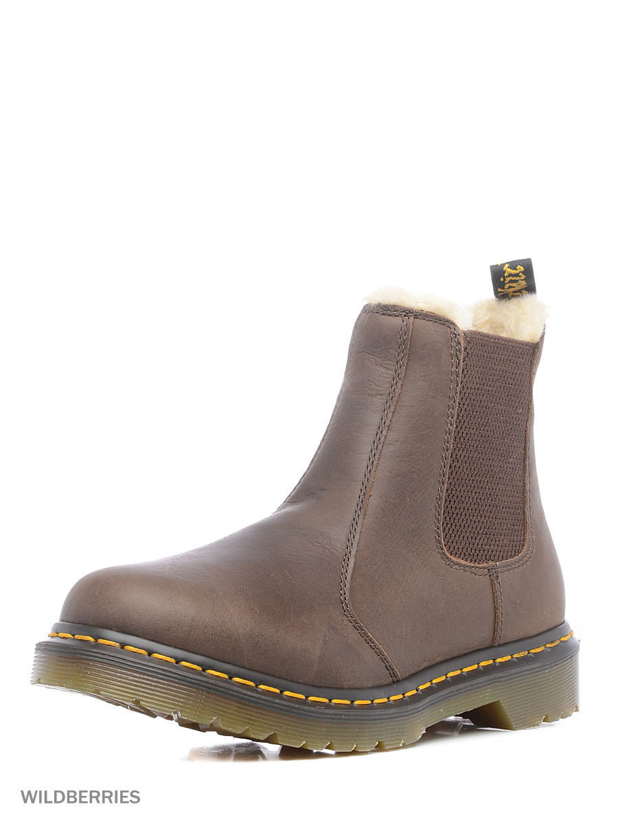 Ботинки Dr.Martens 21069201/darkbrown