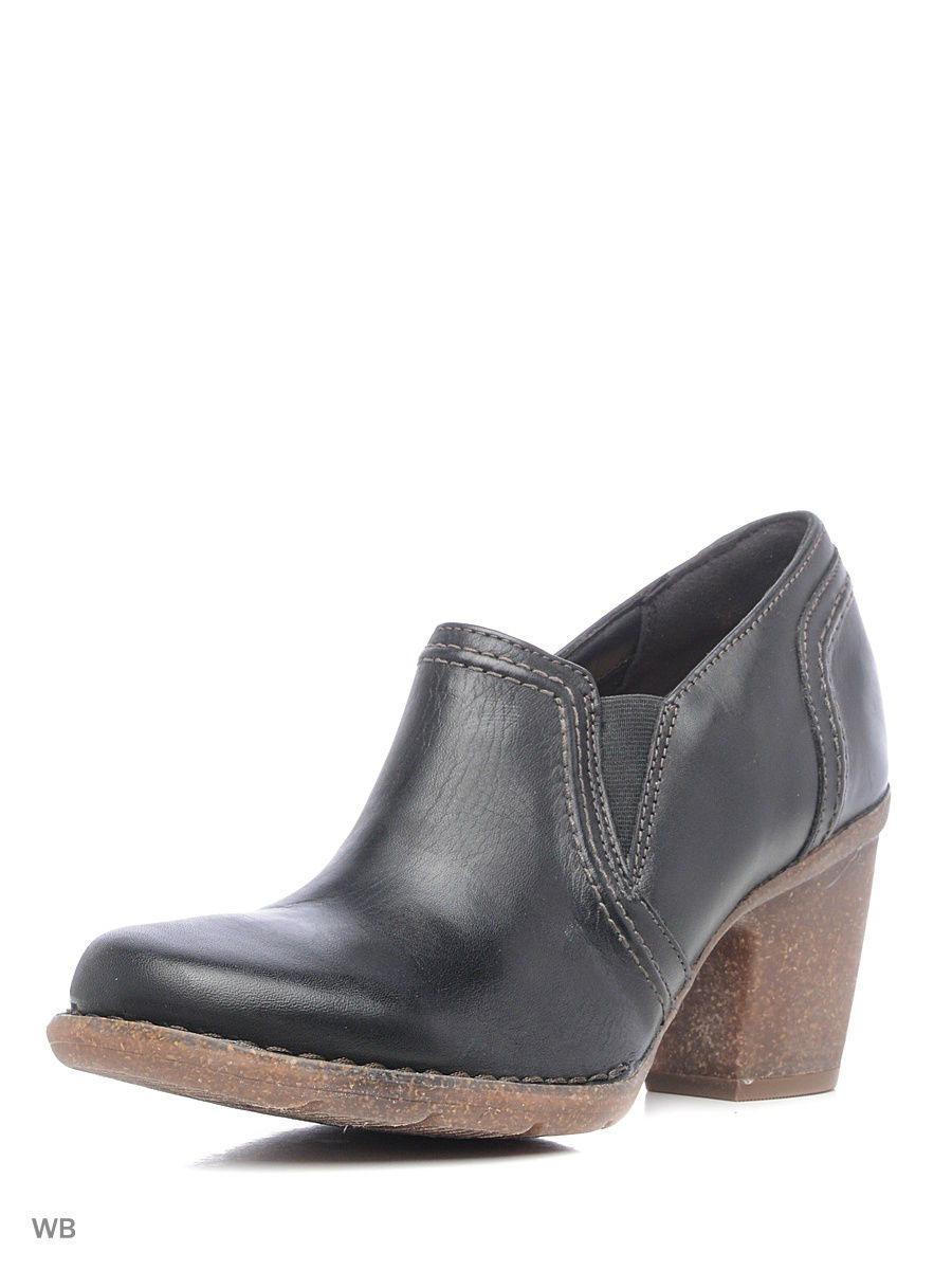Туфли на каблуке Clarks 26120486/blackleather