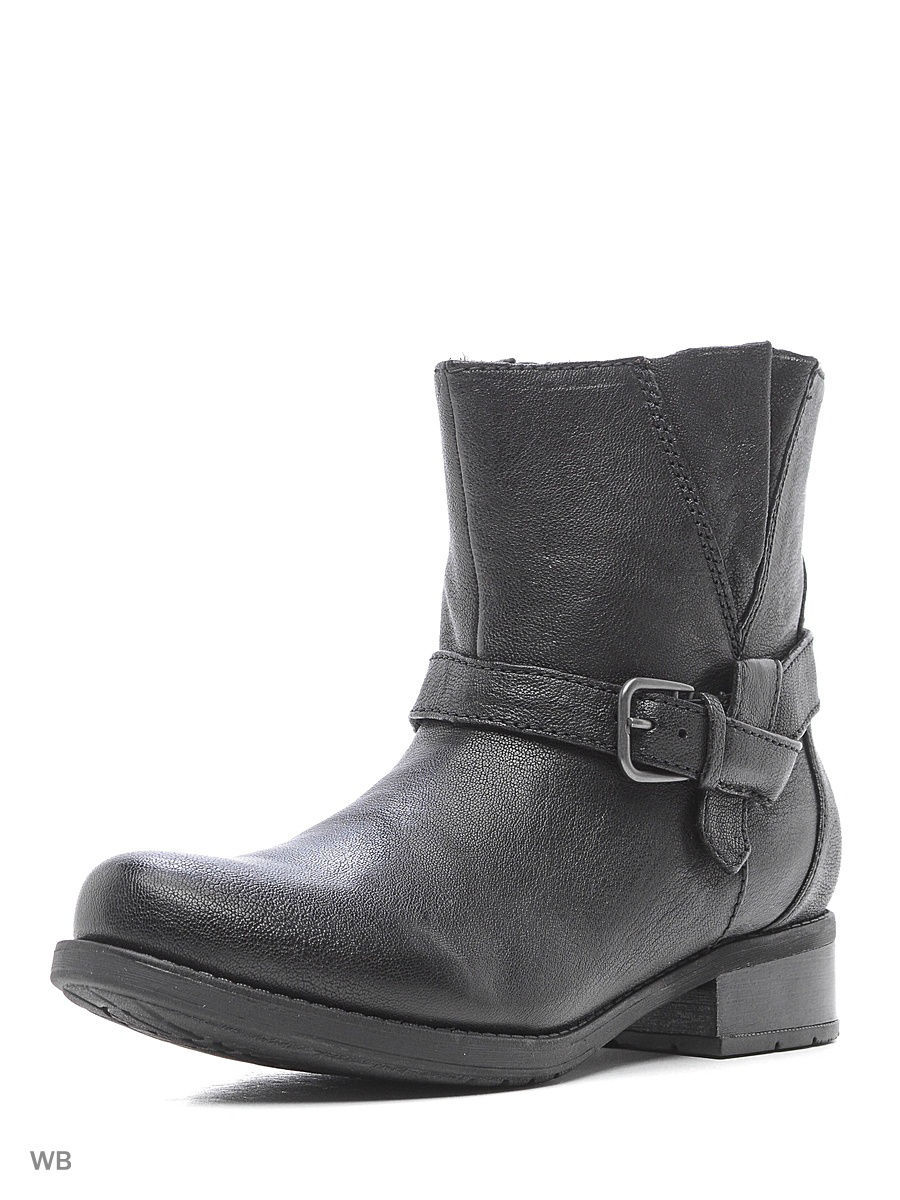 Полусапожки Clarks 26121554/blackleather