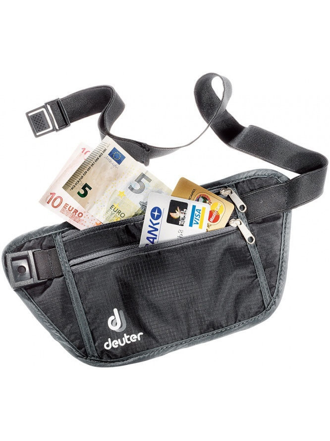Кошельки Deuter Кошелек Deuter 2016-17 Security Money Belt I black сумки deuter сумка на плечо deuter 2016 17 tommy l dresscode black б р