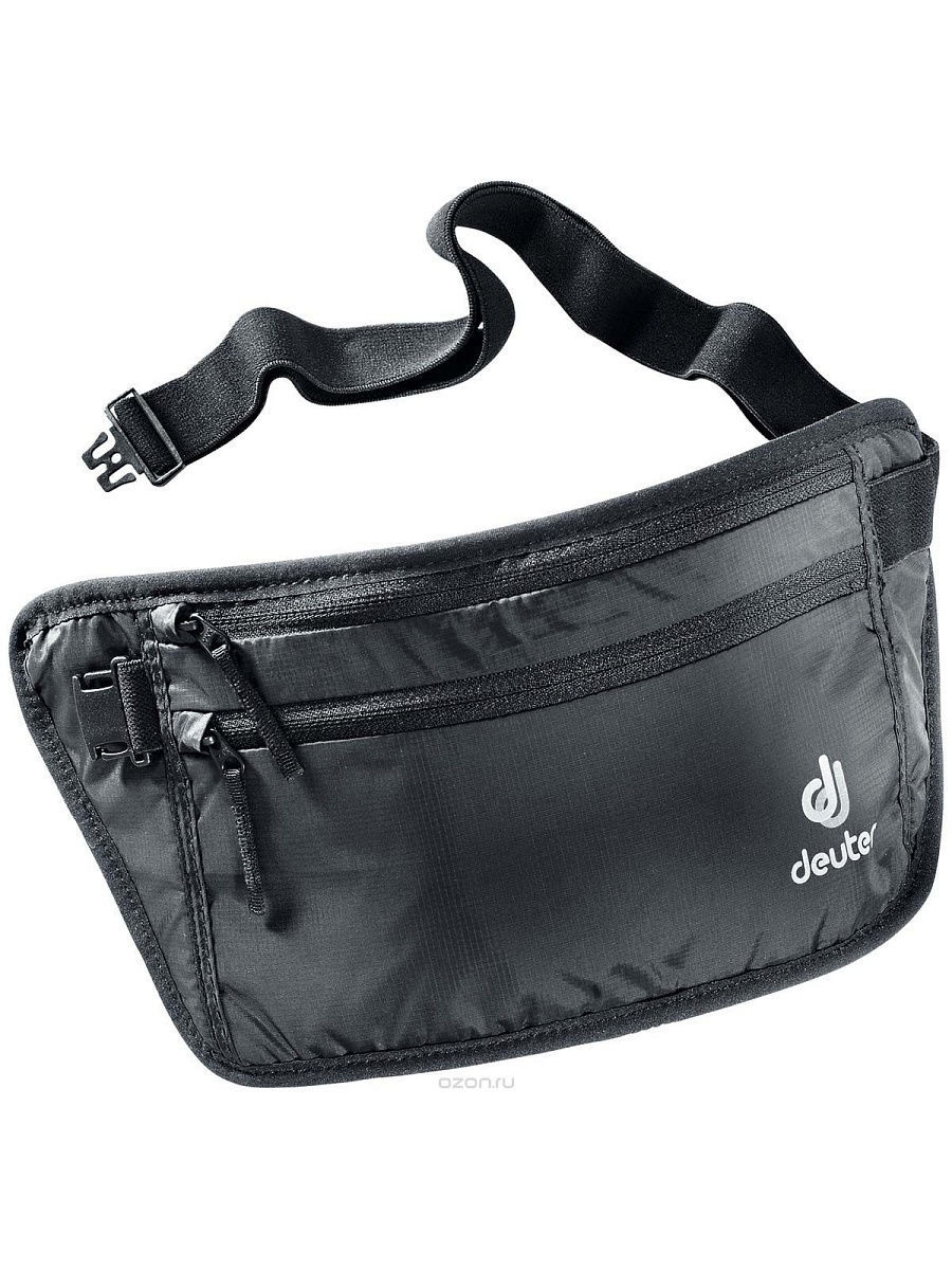 Кошельки Deuter Кошелек Deuter 2016-17 Security Money Belt II black велорюкзак deuter race black white 32113 7130