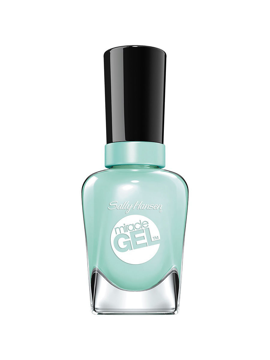 Гель-лаки SALLY HANSEN Гель лак для ногтей Miracle Gel, тон 240 b girl гель лак для ногтей sally hansen miracle gel 240 цвет 240 b girl variant hex name 79c8b8