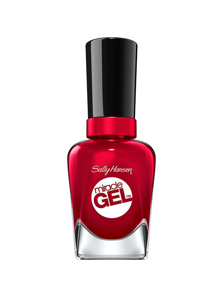 Гель-лаки SALLY HANSEN Гель-лак для ногтей Miracle Gel, тон Rhapsody Red #680 гель лак для ногтей sally hansen miracle gel 444 цвет 444 off with her red variant hex name dc293e
