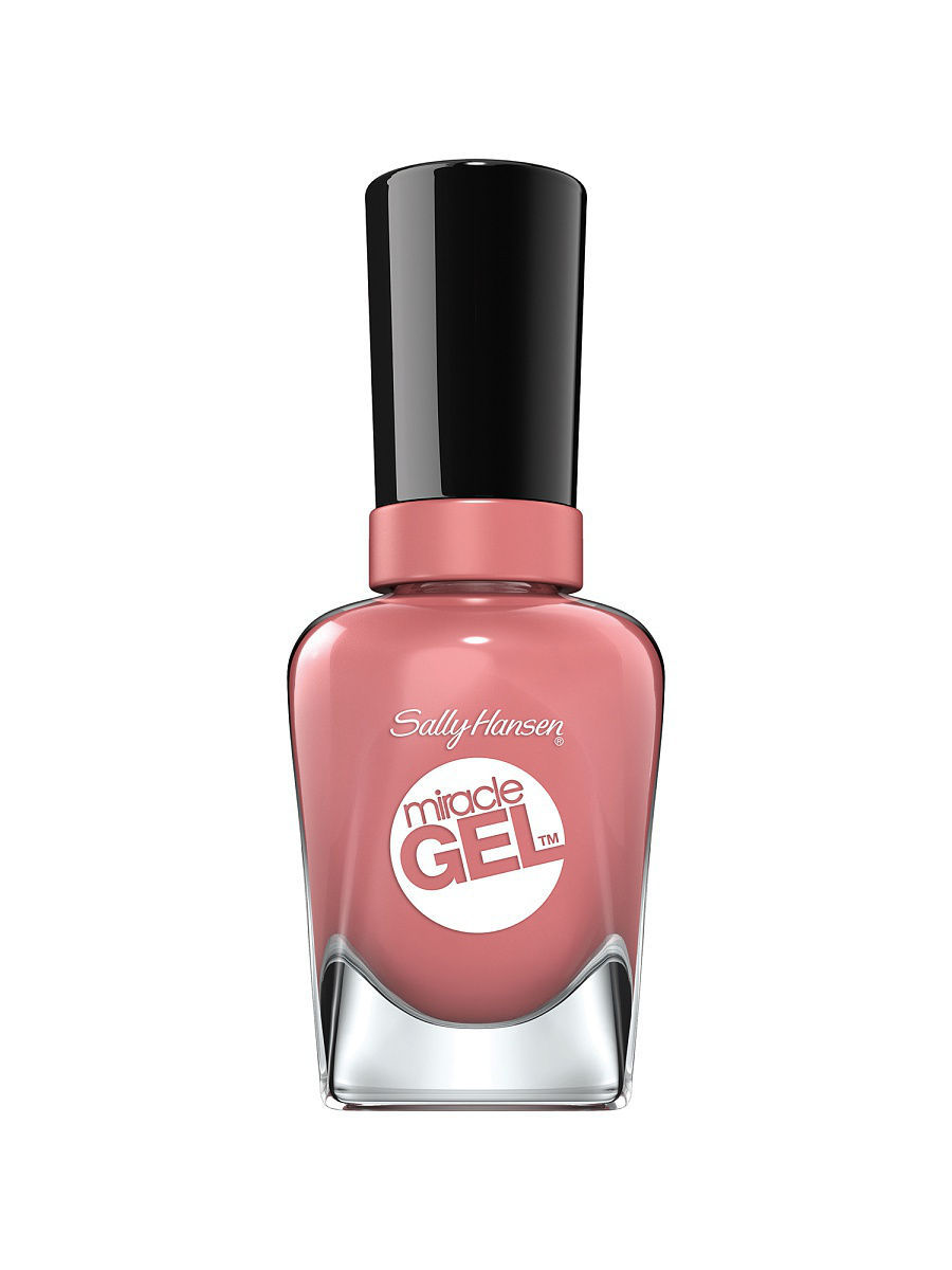 Гель-лаки SALLY HANSEN Sally Hansen Гель Лак Для Ногтей Miracle Gel Гель-лак для ногтей, тон mauve-olous гель лак для ногтей sally hansen miracle gel 234 цвет 234 plush blush variant hex name e6cbd4