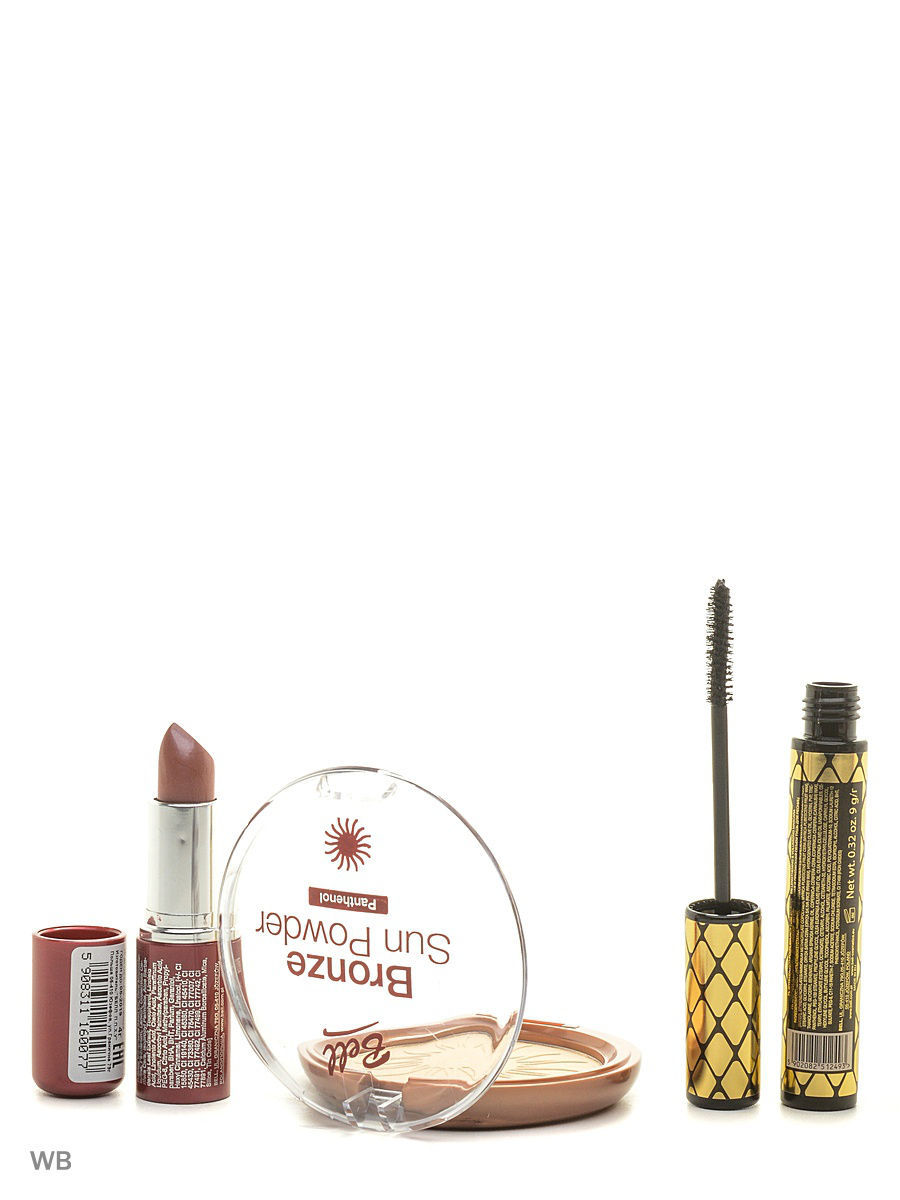 Спайка тушь secretale xtreme lashes, помада lipstick classic, пудра bronze sun powder Bell