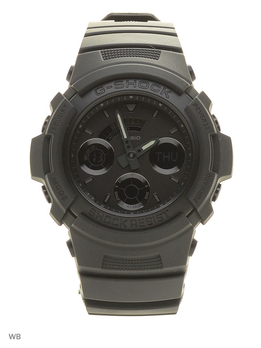 Часы наручные CASIO Часы G-Shock AW-591BB-1A casio часы casio aw 591 2a коллекция g shock