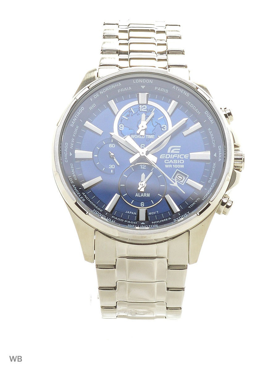 Часы наручные CASIO Часы Edifice EFR-304D-2A casio edifice efr 555l 2a