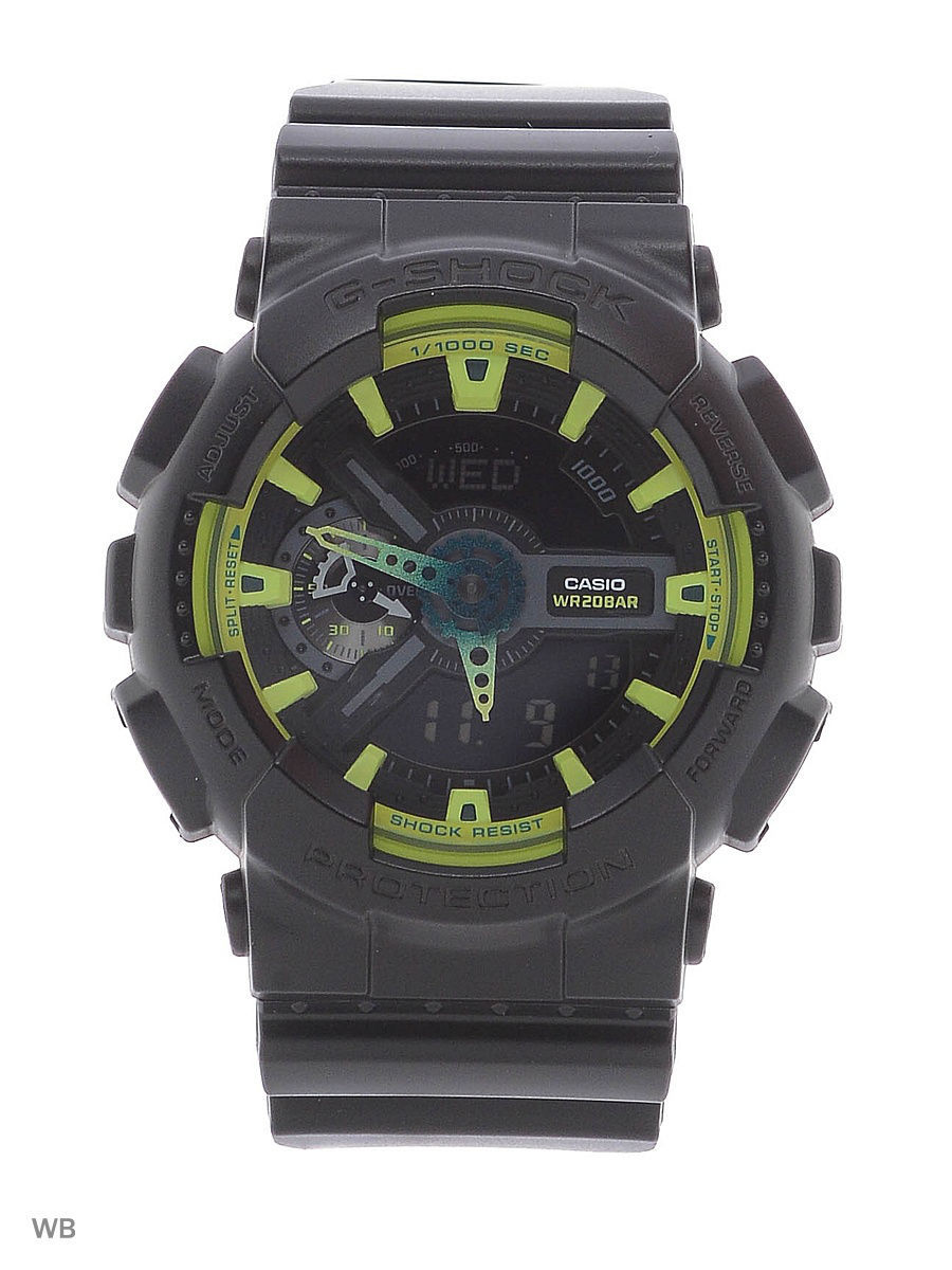 Часы наручные CASIO Часы G-Shock GA-110LY-1A casio g shock ga 100l 1a