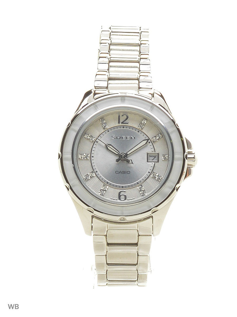 Часы наручные CASIO Часы Sheen SHE-4045D-7A casio sheen she 3029pgl 7a