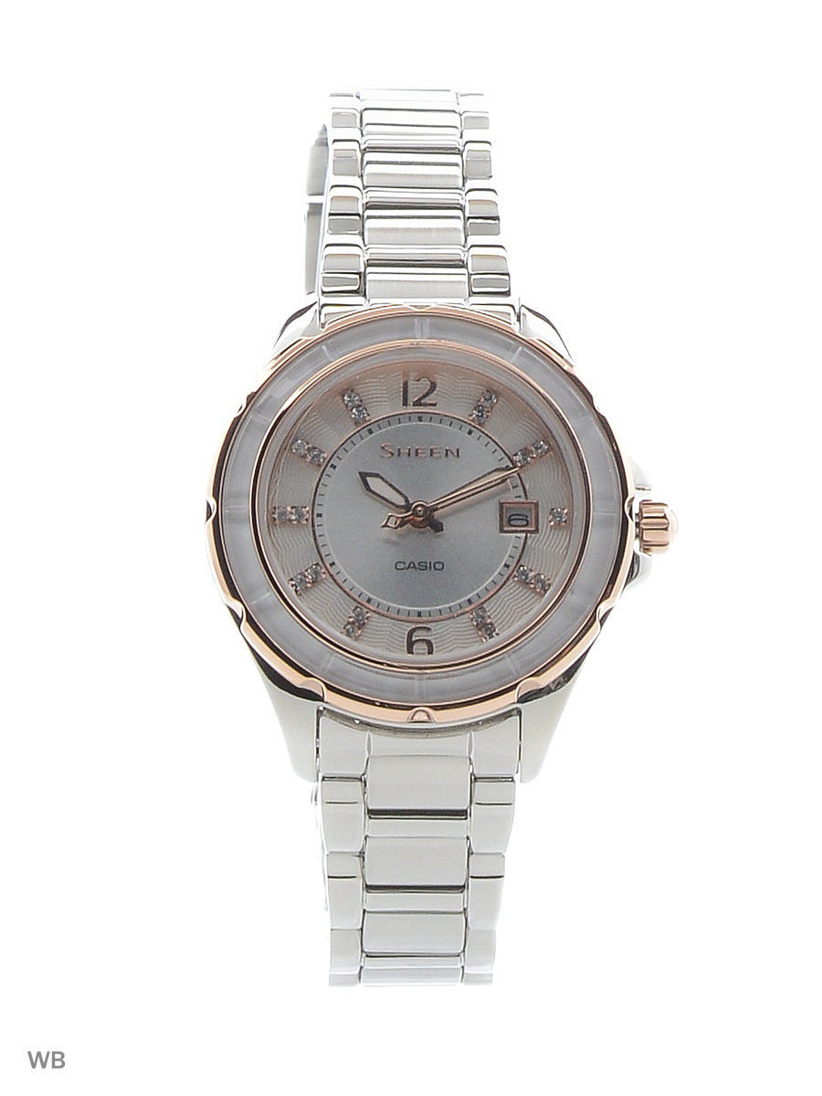 Часы наручные CASIO Часы Sheen SHE-4045SG-7A casio sheen she 3029pgl 7a