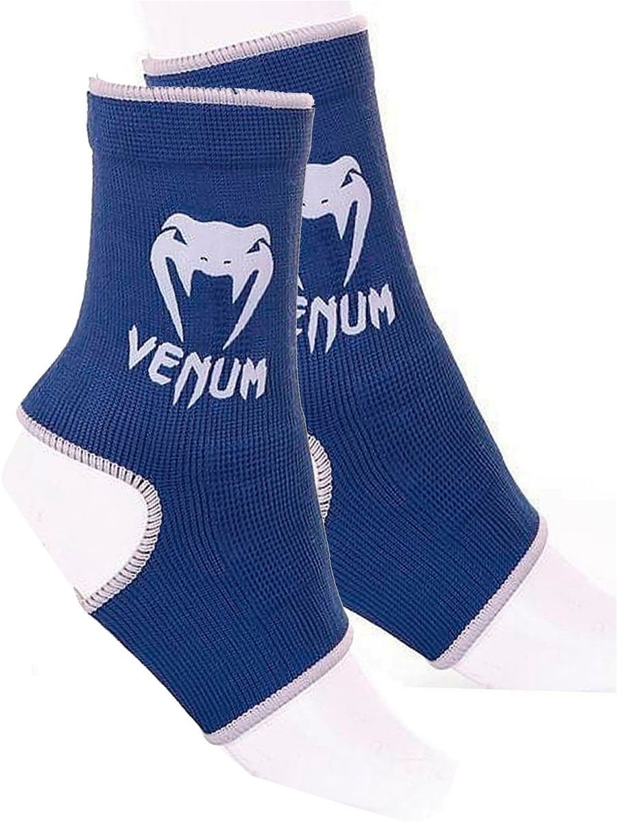 Защита Venum Суппорты Venum Ankle Support Guard Muay Thai/Kick Boxing Blue