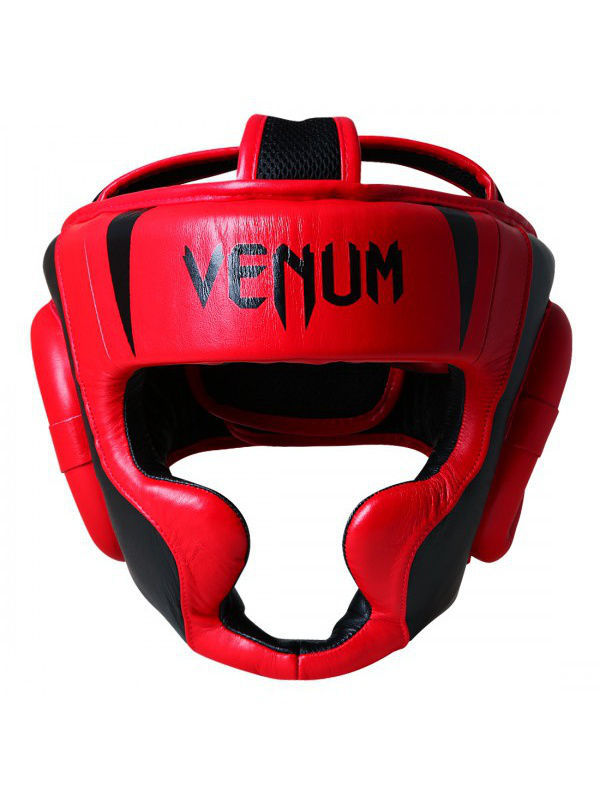 Шлемы Venum Шлем боксерский Venum Absolute 2.0 Headgear - Red Devil шлем боксерский venum elite headgear 100% premium leather