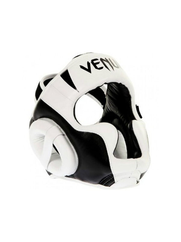 Шлемы Venum Шлем боксерский Venum Absolute Headgear 100% Premium Leather - White шлем боксерский venum elite headgear 100% premium leather