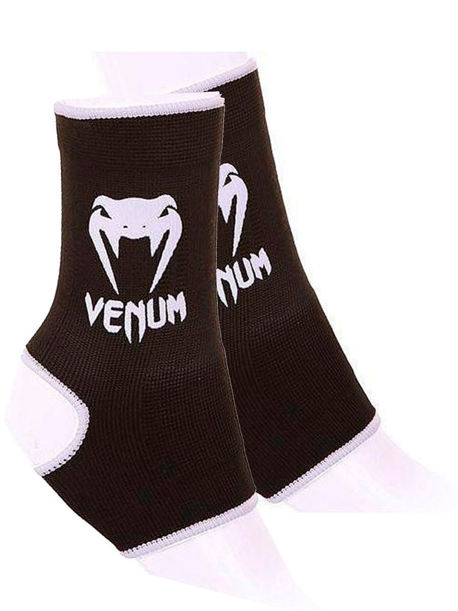 цена Защита Venum Суппорты Venum Ankle Support Guard - Muay Thai Kick Boxing Black