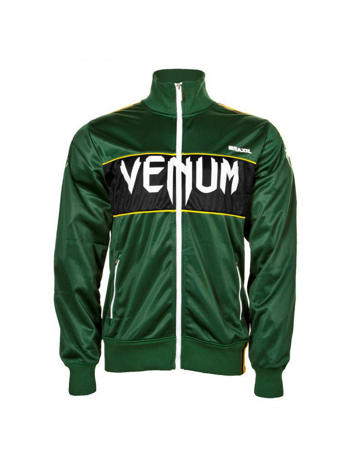 Толстовки Venum Олимпийка Team Brazil Polyester Jacket Green олимпийка iceberg олимпийка