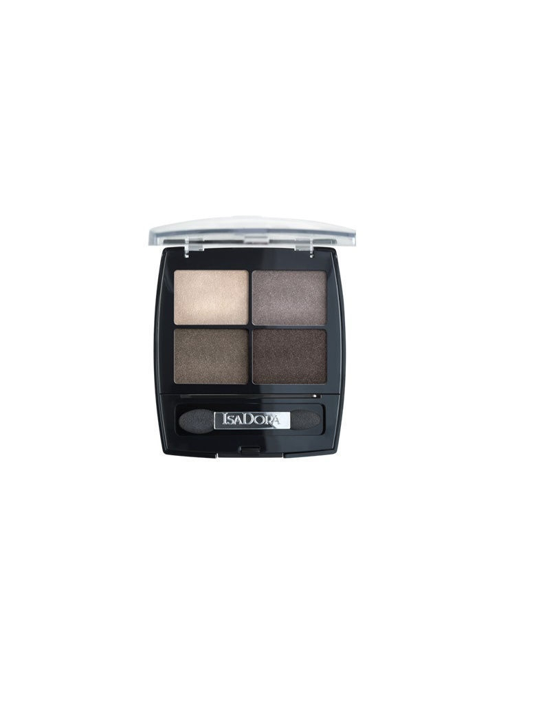 Тени ISADORA Тени для век Eye shadow quartet 09, 5 гр тени для век isadora eye shadow quartet 03 цвет 03 urban green variant hex name a19388