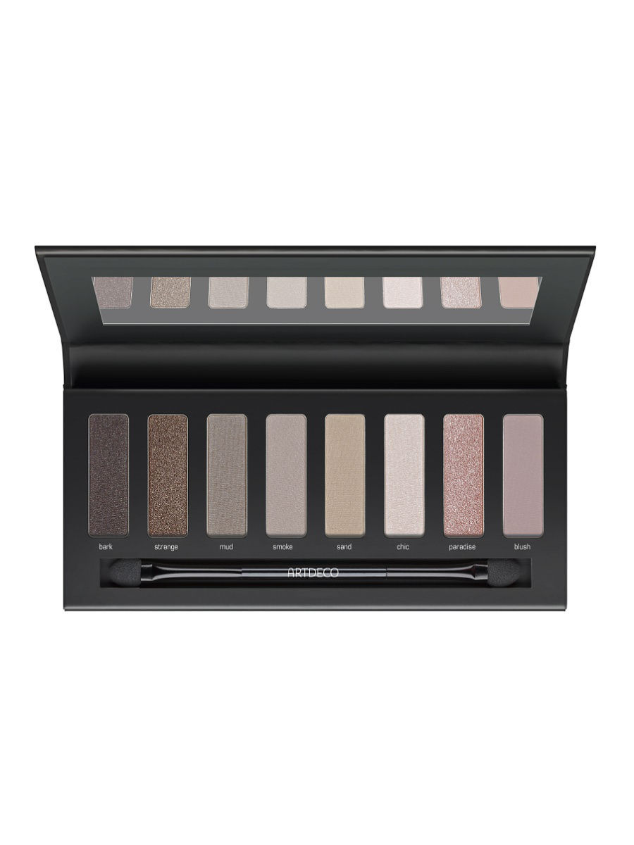 Тени ARTDECO Палетка теней для глаз Most wanted eyeshadow palette to go 3, 8*1,2г. бронзеры artdeco палетка бронзеров most wanted bronzing palette 1 3 5 2 гр