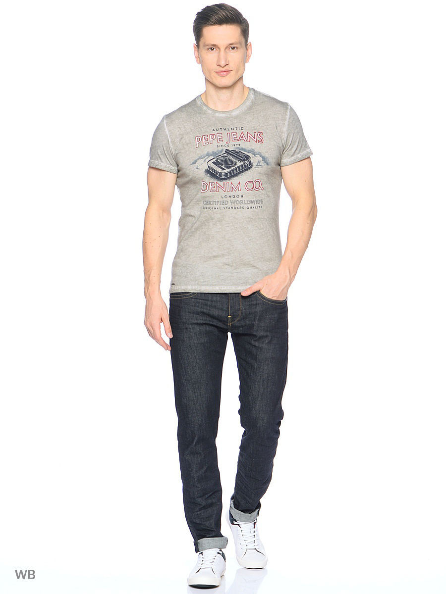 Футболка Pepe Jeans London PM503318/901PEARLGREY