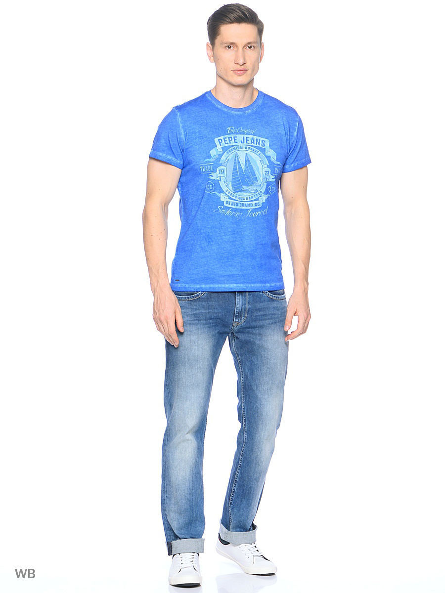 Футболка Pepe Jeans London PM503319/531MIDDLEBLUE