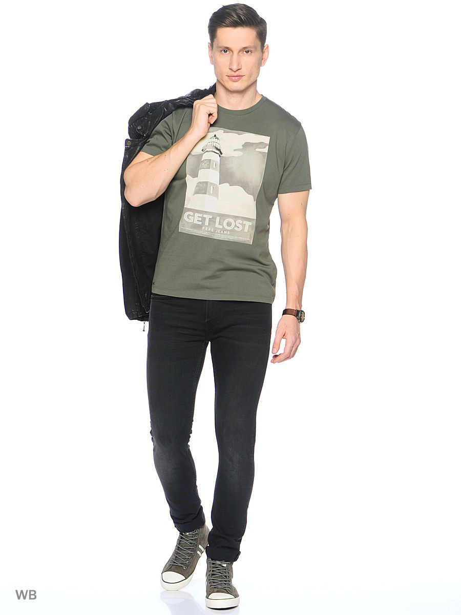 Футболка Pepe Jeans London PM503322/765KHAKIGREEN