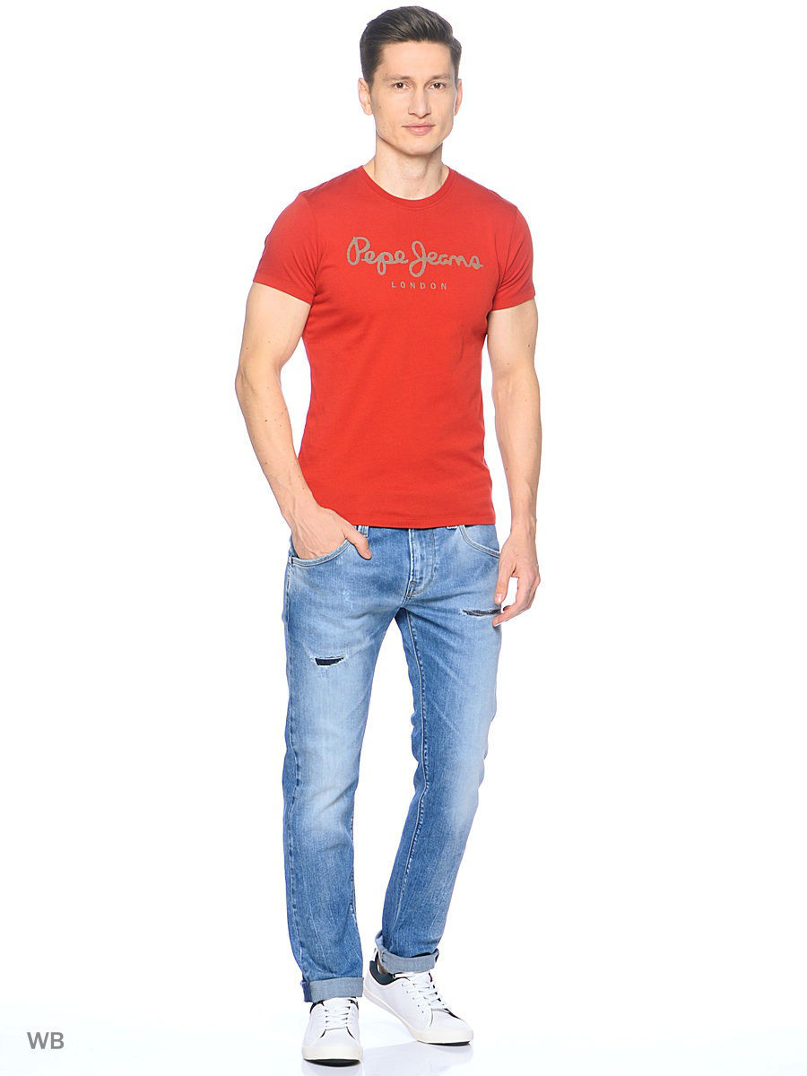 Футболка Pepe Jeans London PM503328/271TERRACOTA