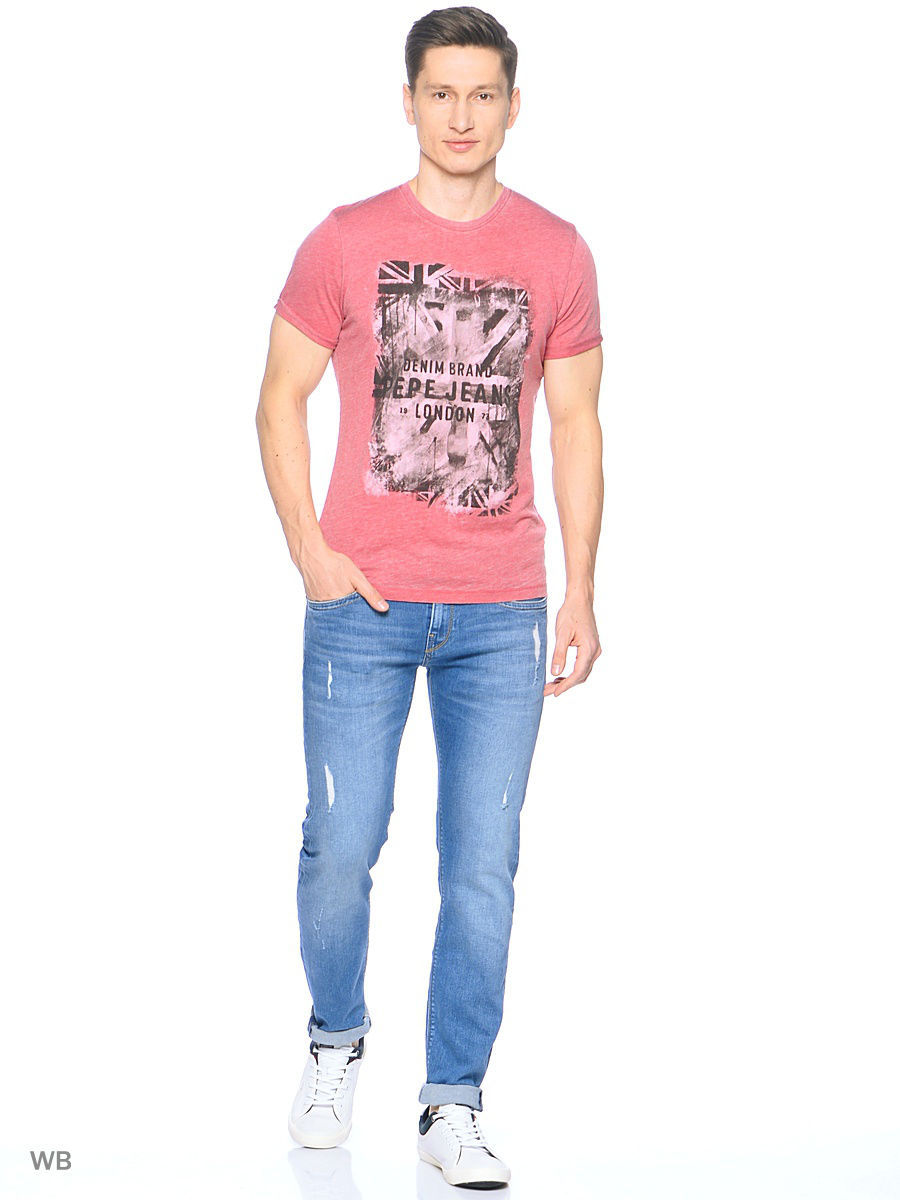 Футболка Pepe Jeans London PM503330/271TERRACOTA