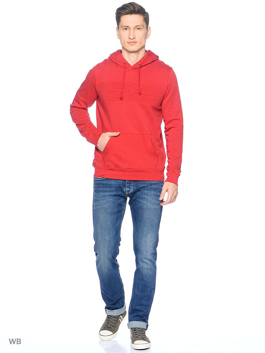 Толстовка Pepe Jeans London PM580952/286BURNTRED