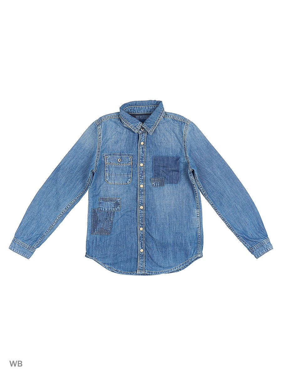 Рубашка Pepe Jeans London PB300730/000DENIM