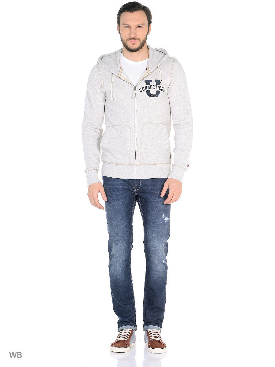 Толстовка Jack & Jones 12109227/WhiteMelange