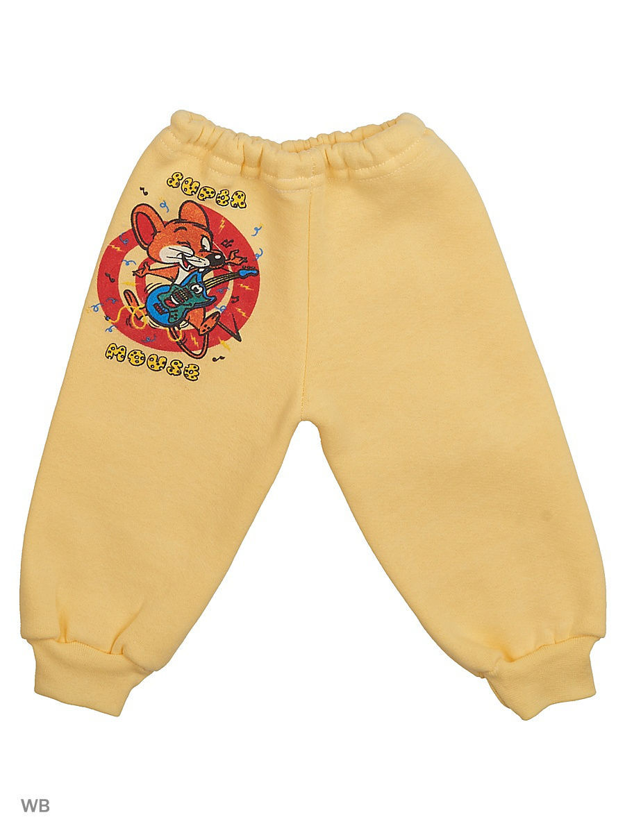 Брюки Babycollection 4MmA-ST910-TRn/1/желтый