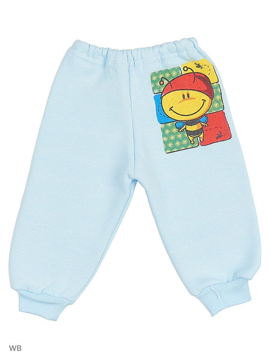 Брюки Babycollection 4MmA-ST910-TRn/2/голубой