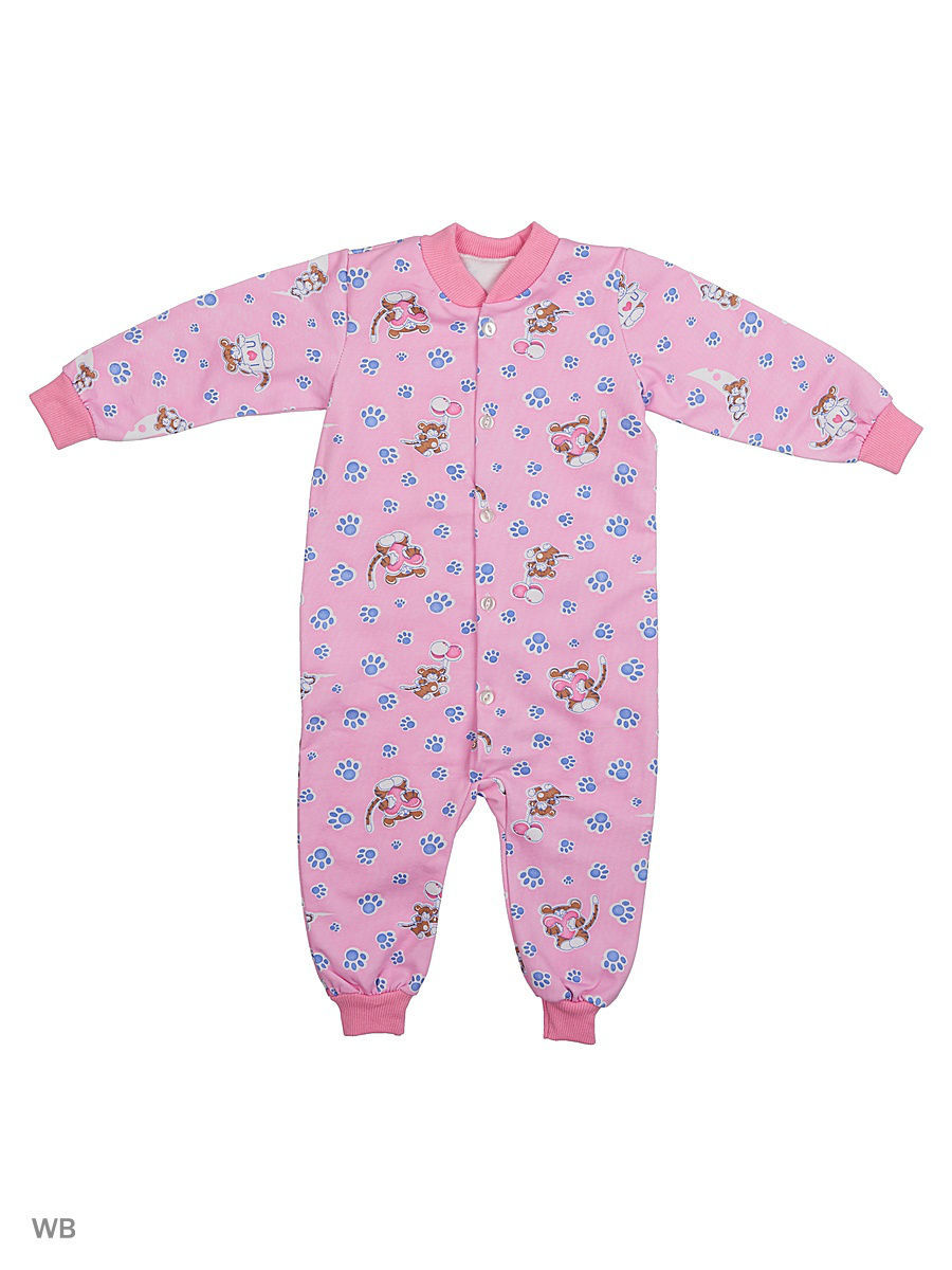 Комбинезон Babycollection 3LAO13-006/1/розовый
