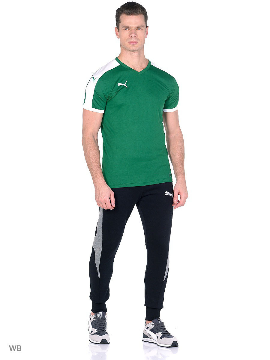 Футболка PUMA Футболка Pitch Shortsleeved Shirt puma футболка женская puma