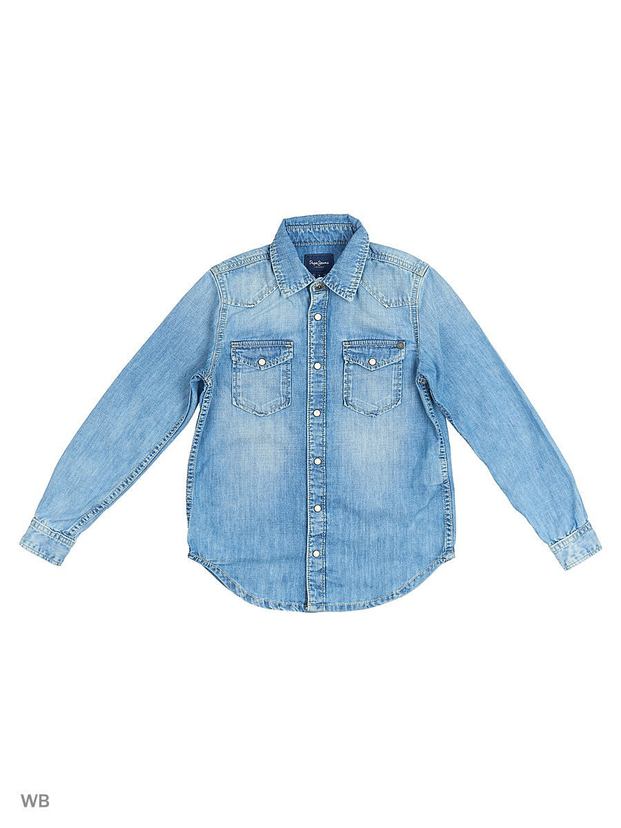 Рубашка Pepe Jeans London PB300765N29/000DENIM
