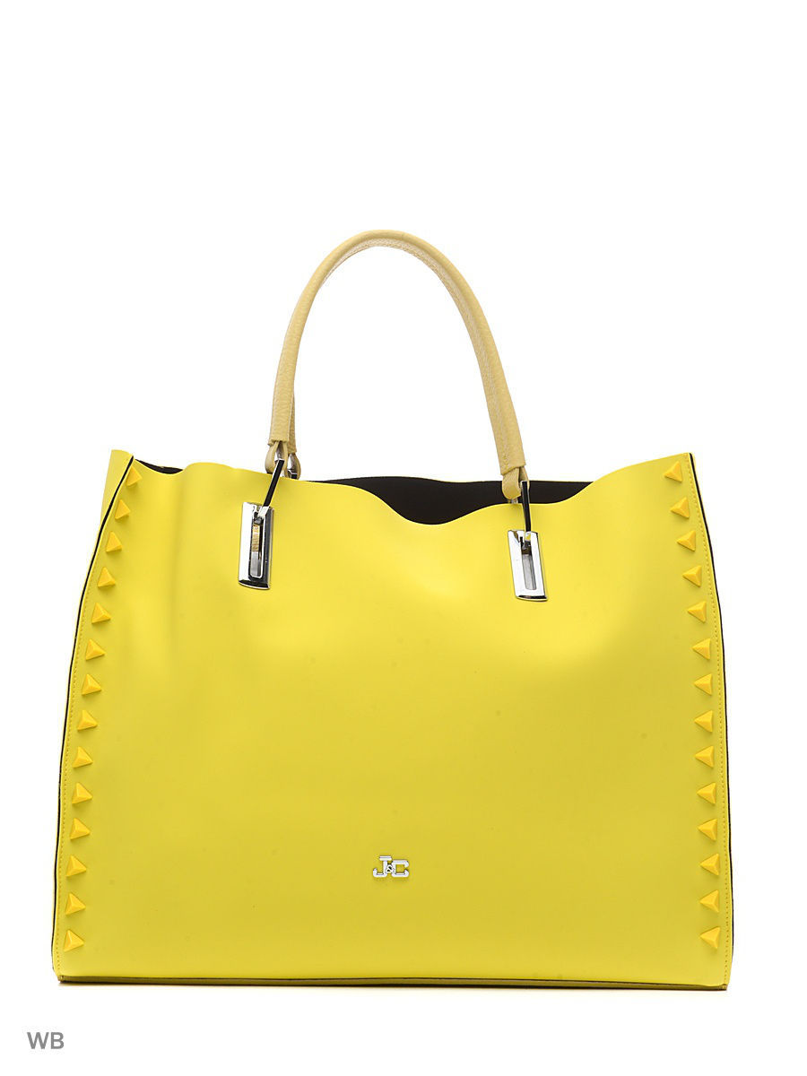Большая сумка Jacky&Celine S16B703-01-051/LEMON/YELLOW