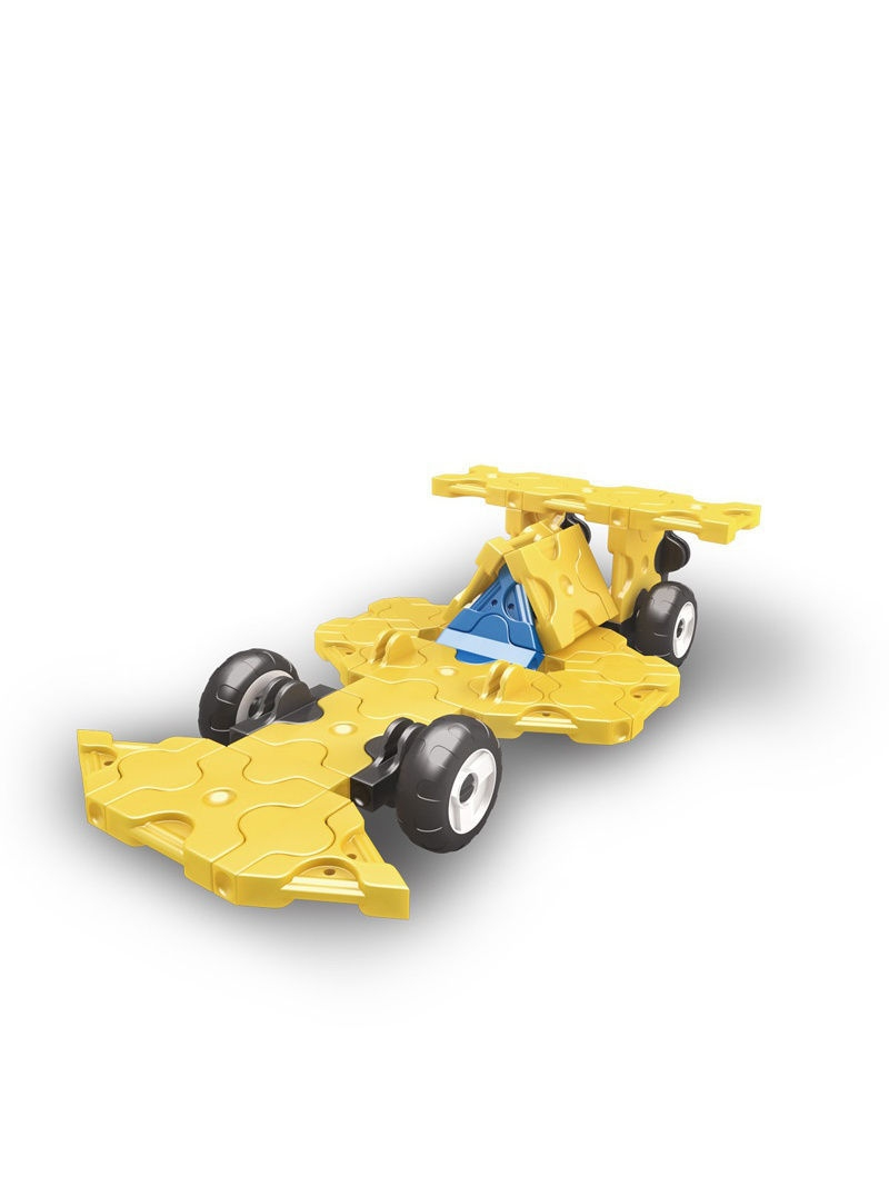 Конструктор Laq mini racer yellow