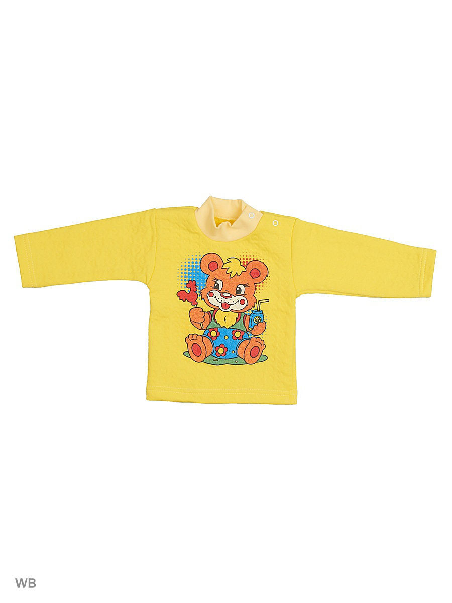 Водолазка Babycollection 5MmA-JM122(2)-KP/2/d/желтый