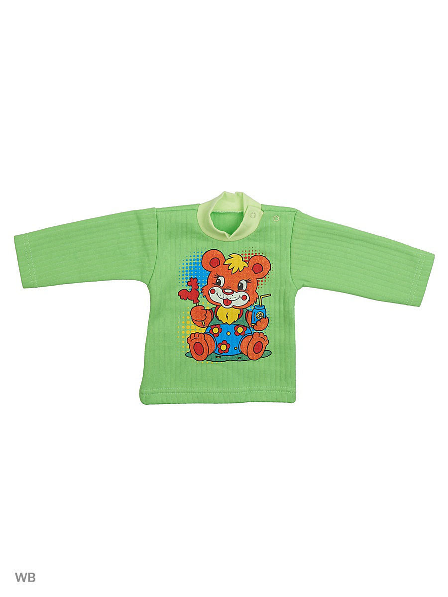 Водолазка Babycollection 5MmA-JM122(2)-KP/2/m/салатовый