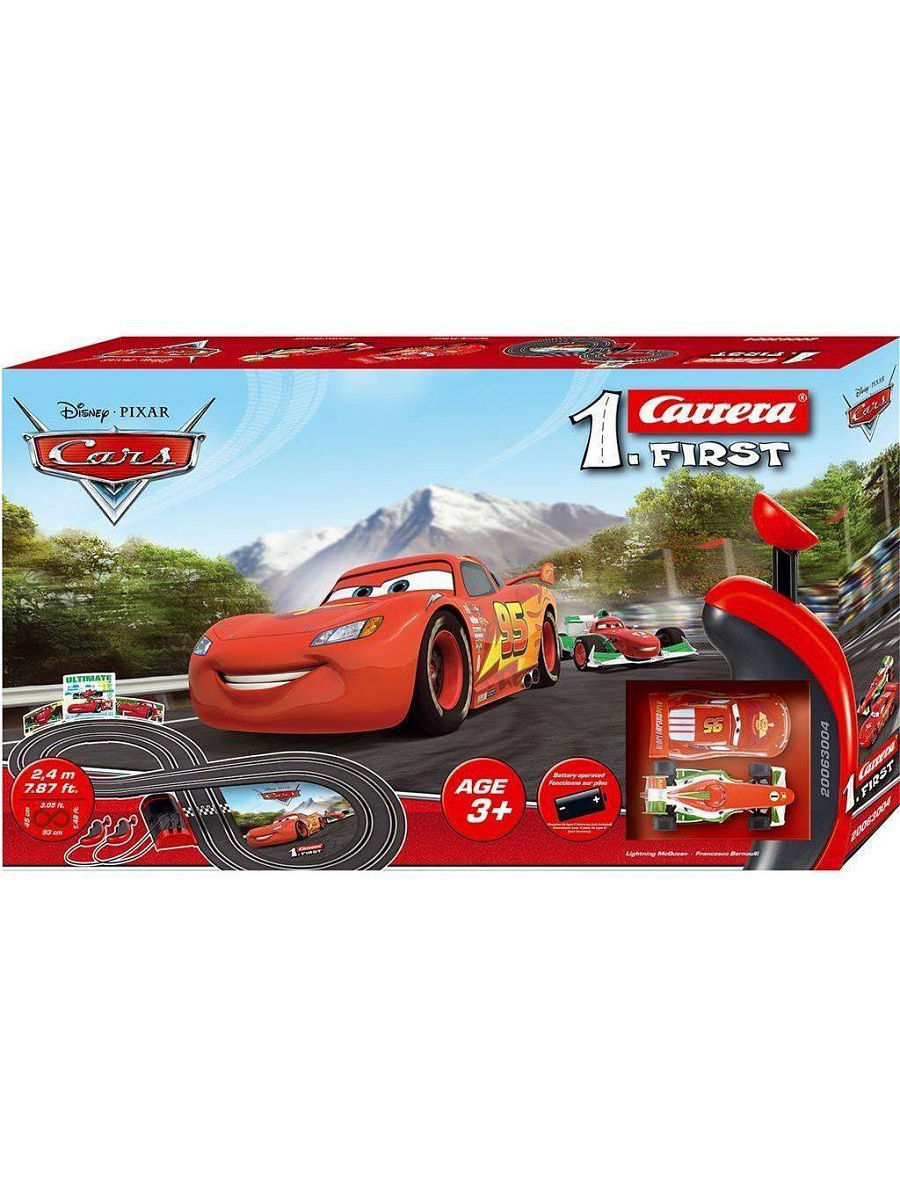 Трэк на батарейках Disney Cars CARRERA 63004
