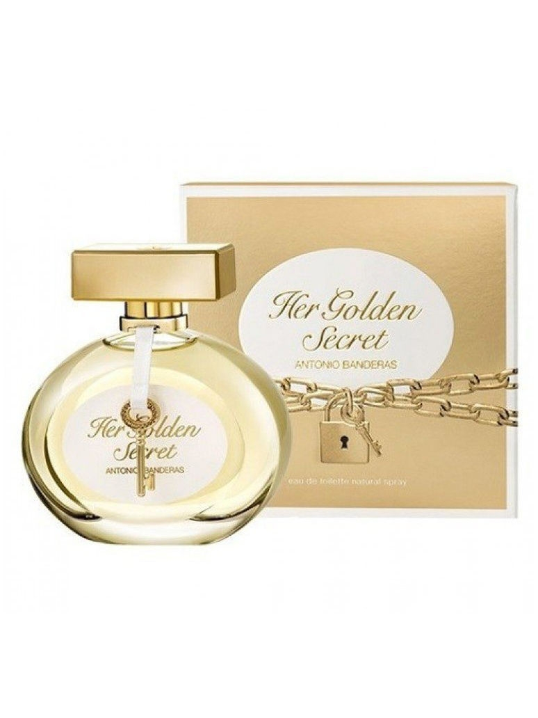 Туалетная вода ANTONIO BANDERAS Golden Secret lady edt 50 ml antonio banderas her secret w edt 80 мл