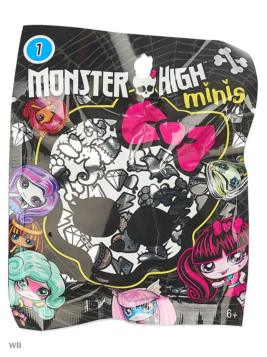 Фигурки-игрушки Monster High Мини-фигурка мини фигурка dragons toothless 66562 20064923