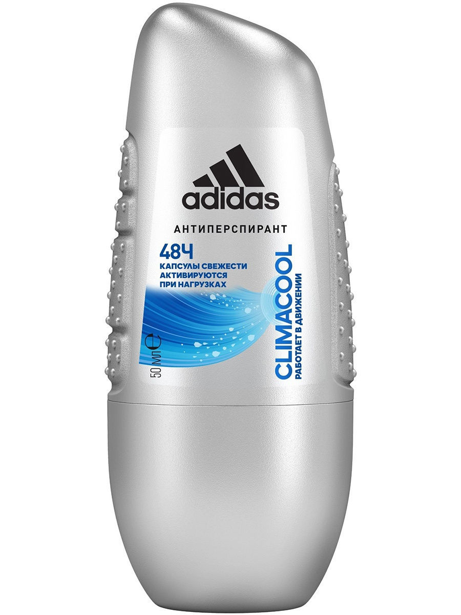 Adidas Anti-perspirant Roll-ons Male Роликовый антиперспирант 50 мл climacool 3607343816373