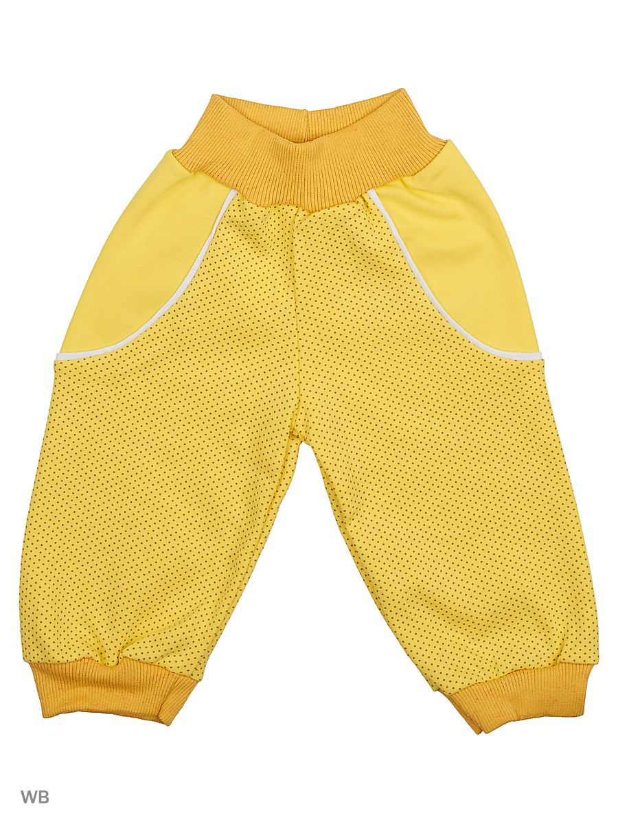 Брюки Babycollection 6MmF-ST810-Itp/d/2/желтый