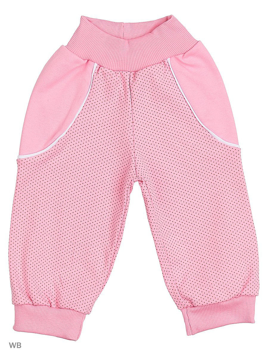 Брюки Babycollection 6MmF-ST810-Itp/d/2/розовый