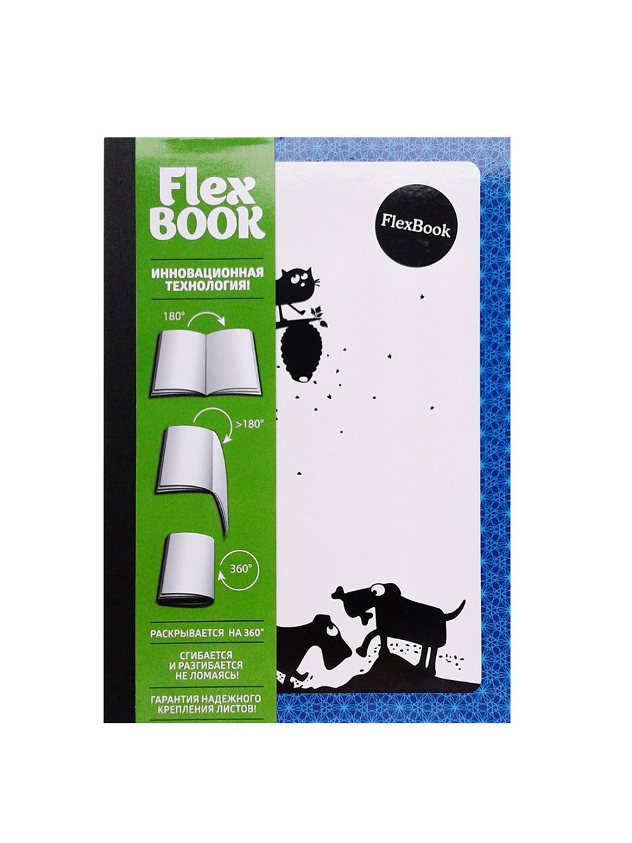 Тетрадь FLEX BOOK Animals, Expert Complete, 60 листов.