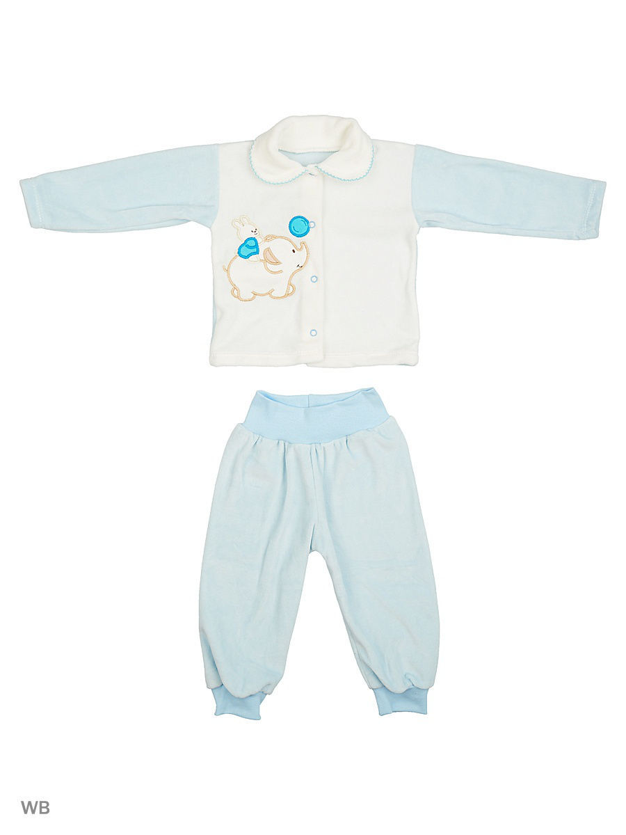 Костюм Babycollection 6MmdV-KS013-VLK/2/голубой