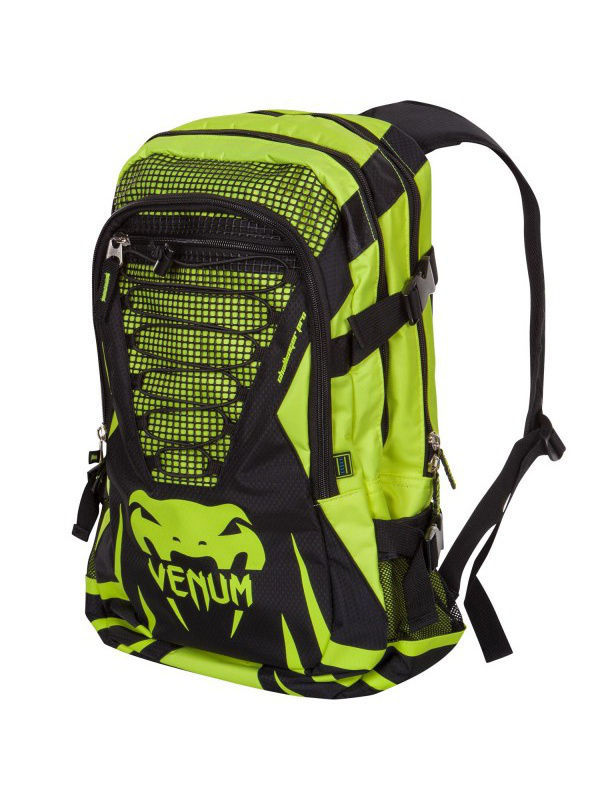 Рюкзаки Venum Рюкзак Venum Challenger Pro Backpack - Black/Yellow шлемы venum шлем боксерский venum challenger 2 0 neo orange black