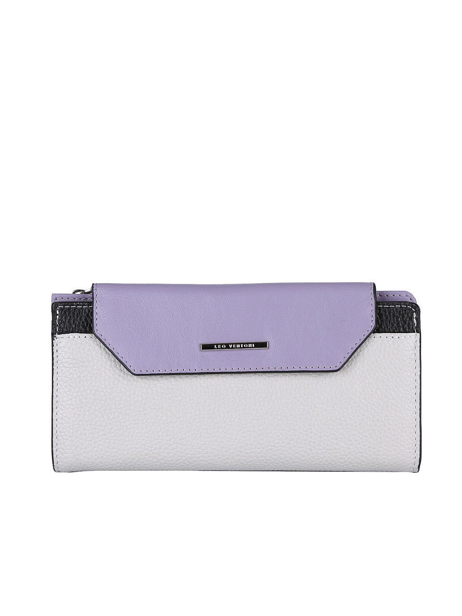 Кошелек Leo Ventoni L330880-purple/grey/nero